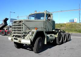 100 Truck Tractor M920 Heavy Equipment Transport 8x6 5th Wheel