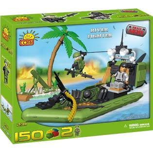 COBI Small Army 150 Pcs River Fighter
