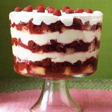 Kraft Pumpkin Mousse Trifle by Grand Raspberry Trifle