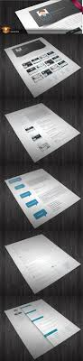 5 CV Resumes InDesign Templates