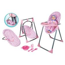 Lissi Doll 4 In 1 Highchair Set
