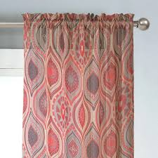 Moroccan Tile Curtain Panels by Moorish Tile Curtains Look 4 Less And Steals Deals 96 Sheer