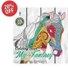 Jual Coloring Book My Fantasy For Adult Di Lapak Konco