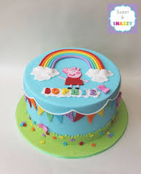 peppa pig cake decorations best 25 peppa pig cakes ideas on peppa pig birthday