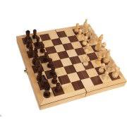 Classic Games Collection Inlaid Wood Chess Set With 3 King