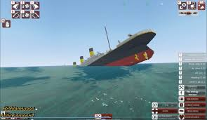 Roblox Rms Olympic Sinking by Sinking Titanic From The Depths Minecraft Design Youtube