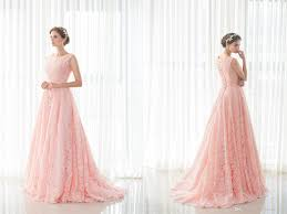 pink lace 2017 christmas prom party dresses long women lady