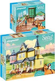playmobil spirit 2er set 9475 9476 luckys glückliches
