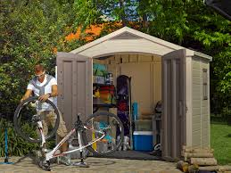 8 X 6 Resin Storage Shed by Keter Factor 8 U0027 X 6 U0027 Resin Storage Shed All Weather Plastic