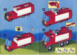 100 Lego Fire Truck Instructions LEGO LS Hook And Ladder 6480 Rescue