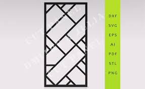 zilane privacy screen dxf svg eps ready to cut file cnc