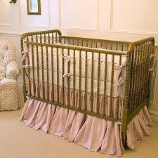 Antique Spindle Crib In Brass Finish and Nursery Necessities in