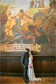 Santa Barbara Courthouse Mural Room by Santa Barbara Courthouse Wedding Elizabeth Burgi Journal