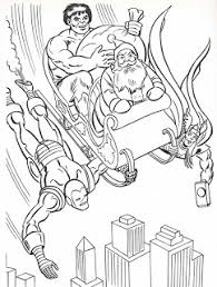 What Would Christmas Be Without Marvel Super Heroes Check Out The Green Goblin Page That One Is A Hoot
