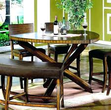 Pub Style Dining Table With Storage Tables Small Round Kitchen
