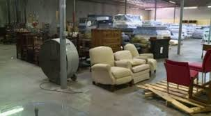 Craig visits the Houston Furniture Bank after Hurricane Harvey