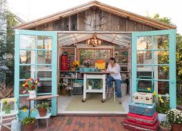 How To Build A Storage Shed From Scratch by Women Head To Backyard U0027she Sheds U0027 For Private Time U2013 Las Vegas