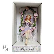 Nemesis Now Fairy Treasures Swing Lilac Garden