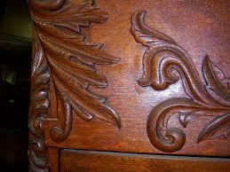 Tiger Oak Dresser Beveled Mirror by Oak Bedroom Set High Back Bed Dresser W Mirror Washstand