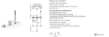 tres slim exclusive badewannen armatur wannenrandbatterie 20216104 chrom design für ihr badezimmer