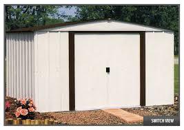 Arrow Newburgh 8x6 Storage Shed by 15 Arrow Galvanized Steel Storage Shed 10x8 Building Shed