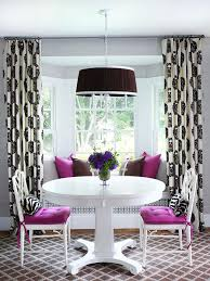 Kitchen Curtain Ideas For Bay Window by Every Awkward Window Treatment Problem Solved The Accent