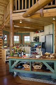 Log Cabin Kitchen Island Ideas by Best 25 Log Home Kitchens Ideas On Pinterest Log Cabin Kitchens