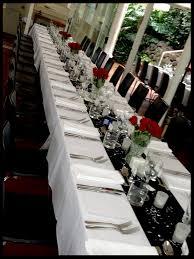 Red And Black Wedding Cake Table Sugarpie Honeycrumbs Elegant Back White