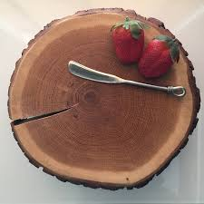 Cheese BoardWood Cake StandRustic Board With Wood Legs