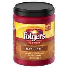 Folgers Flavors Hazelnut Mountain Grown Medium Roast Ground Coffee