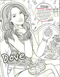 Gallery Of Carlos Descendants 2 Coloring Page Disney S 9 K Dove Cameron Liv Mad Mal