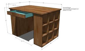 Sewing Cabinet Plans Build by Ana White Craft Table Top For The Modular Collection Diy Projects