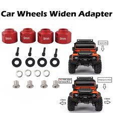 100 Toys 4 Trucks Car Widen Adapter Widening Set For 110 TRAXXAS TRX TRX RC