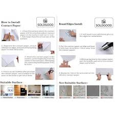 0 61x5 5m pvc selbstklebend möbel klebefolie küchenschrank