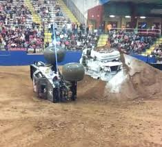 100 Monster Truck Backflip Wheel Falls Off Jukin Media Inc