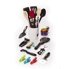 Play Kitchen Sets Walmart by Chef Buddy 6 Piece Kitchen Utensil Set On Ring Walmart Com