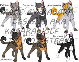 warrior cat names warrior cats warriors 1 by kasara designs on deviantart