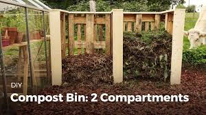 COMPOST BIN: 2 COMPARTMENTS - YouTube Backyard Compost Bin Patterns Choosing A Food First Nl Amazoncom Garden Gourmet 82 Gallon Recycled Plastic Vermicoposting From My How To Make Low Cost Compost Bin For Your Garden Yard Waste This Is Made From Landscaping Bricks I Left Spaces Wooden Bins Setting Stock Photo 297135617 25 Trending Ideas On Pinterest Pallet Root Cellars Rock Diy Shop Amazoncomoutdoor Composting Backyards As And