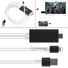 Lightning 8 Pin to HDMI Cable HDTV TV Digital AV Adapter for