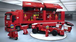 100 Ferrari Truck F14 T Scuderia LEGO Speed Champions