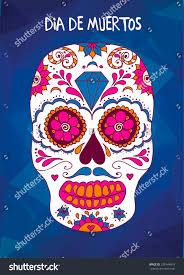 Easy Sugar Skull Day Of by Vector Sugar Skull Mexican Skull Day Stock Vector 329144819
