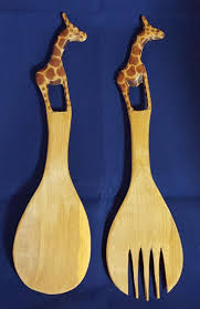 Large Wooden Fork And Spoon Wall Hanging by 10 Best Wooden Items Images On Pinterest Basket Candy Jars And