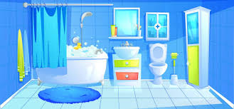 bathroom clipart images image of bathroom and closet