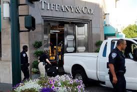 Walnut Creek Police Investigate At The Scene Of A Smash And Grab Burglary Tiffany