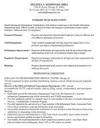Hospital Administrator Resume 8