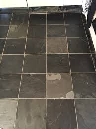 using to add colour to slate floor tiles