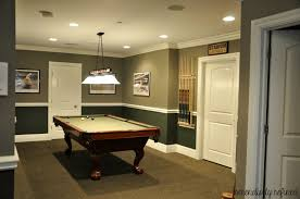 low ceiling pool table light ceiling lights