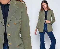 ralph lauren blazer jacket 80s jacket grey western wear up