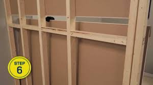 rona how to build an interior wall youtube