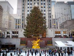 Rockefeller Plaza Christmas Tree Lighting 2017 by Rockefeller Center U0027s Christmas Tree Business Insider